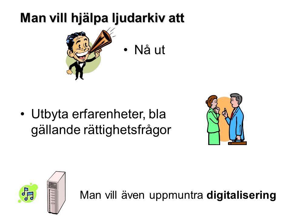 I databaser I kortkataloger och/eller pärmar Annat sätt.