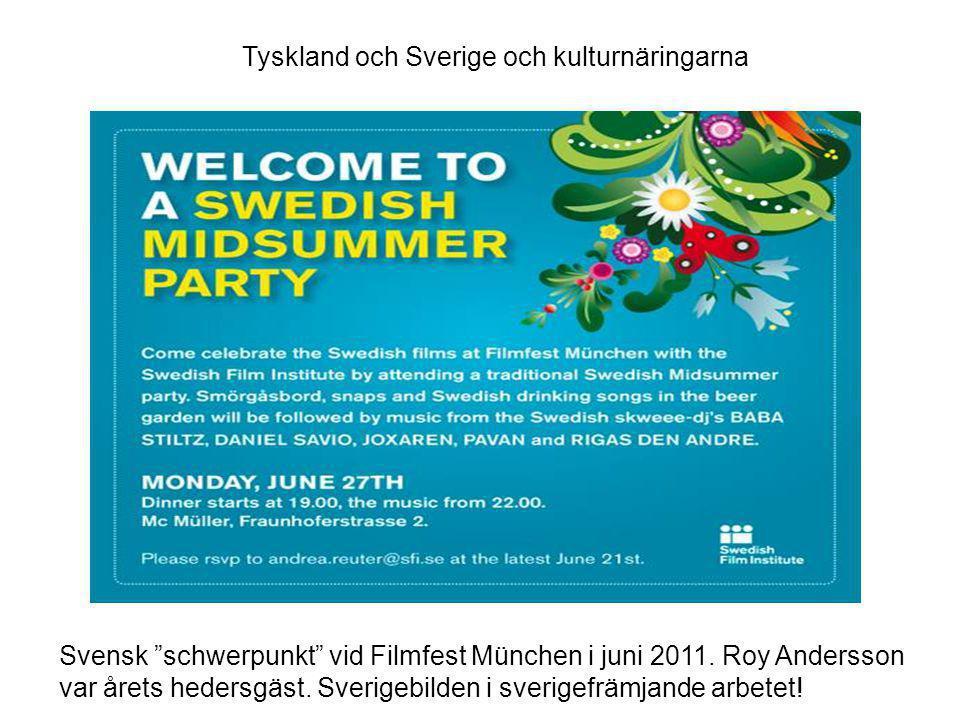 Hur har Sverige aktivt jobbat med svensk kultur i Tyskland och i Berlin.