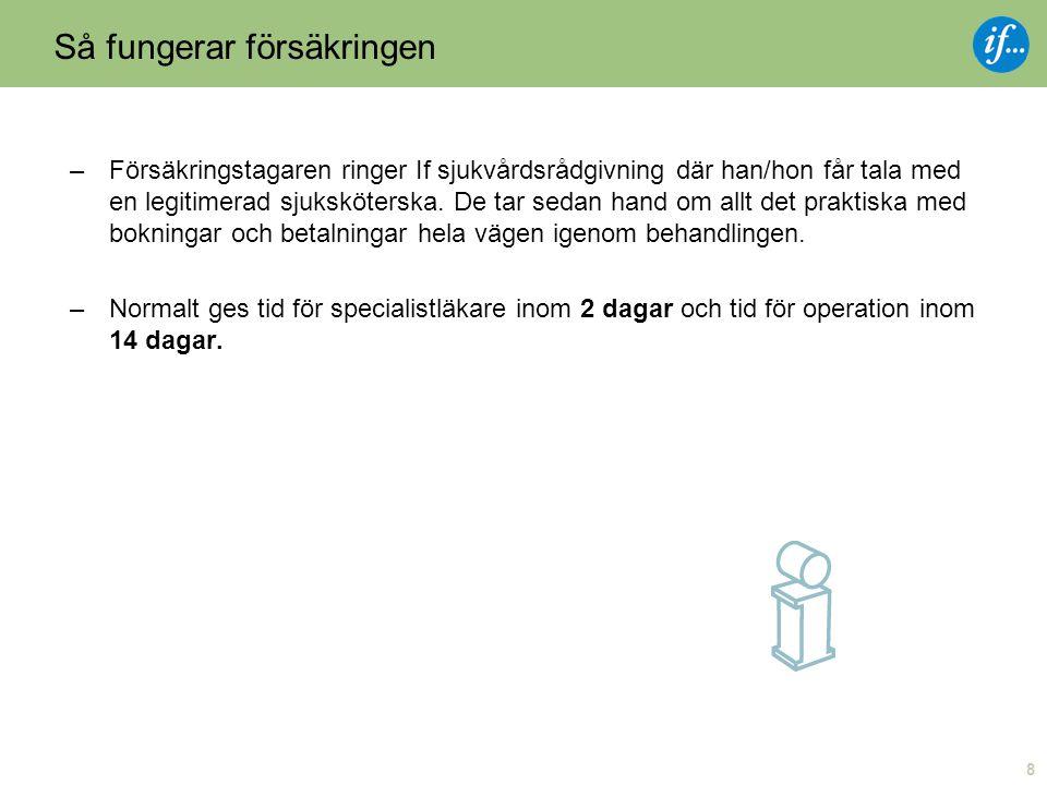 9 Tillgång till Nordens största privatvårdsleverantör.