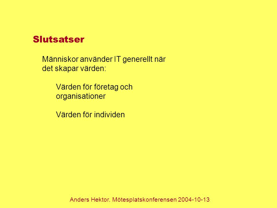 Anders Hektor.