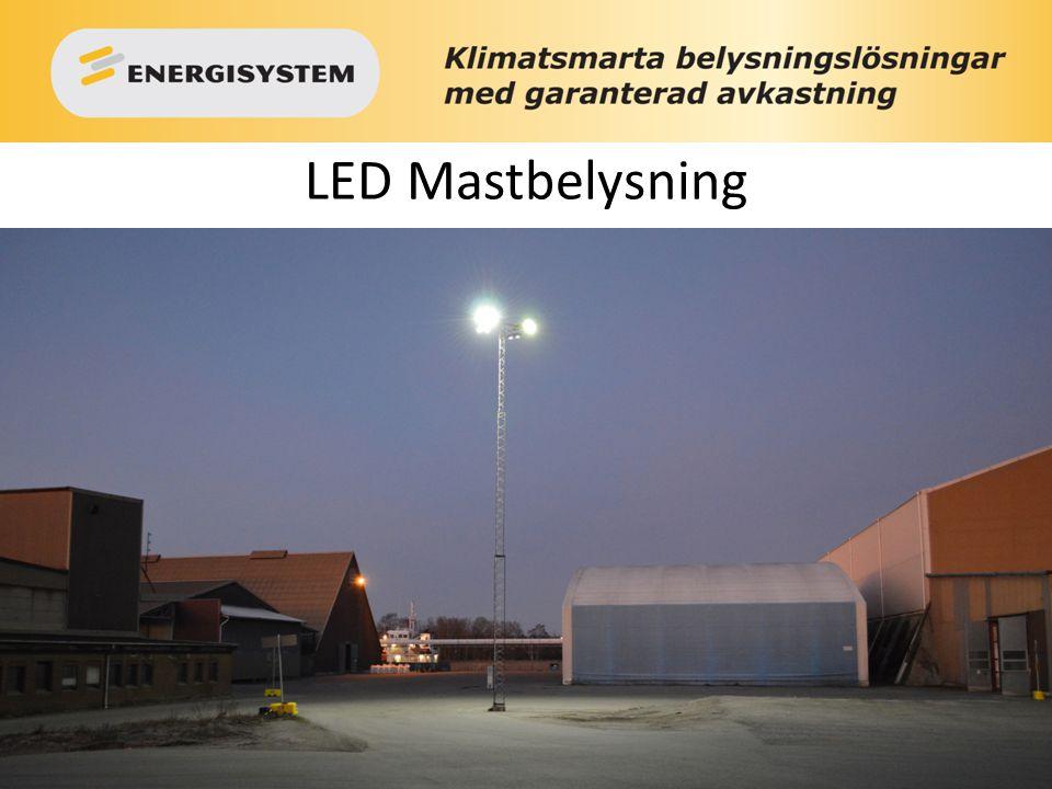 LED Mastbelysning 1