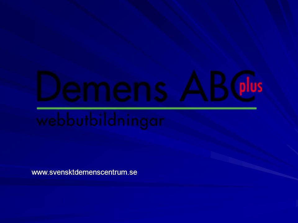 www.svensktdemenscentrum.se