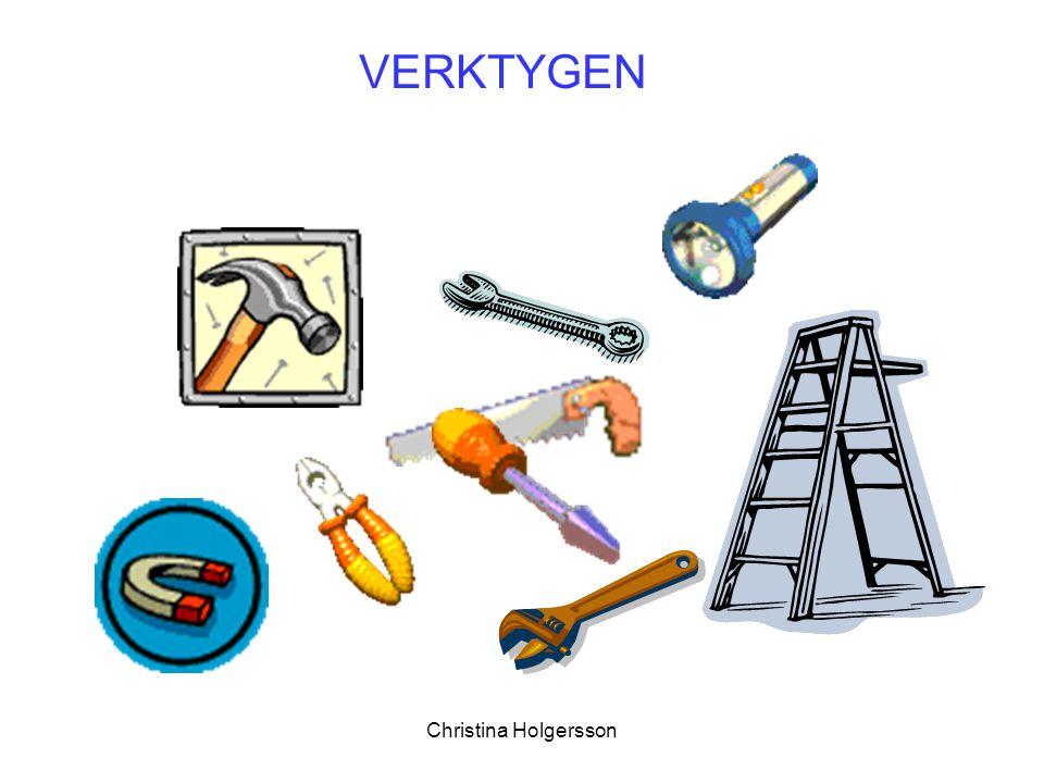 Christina Holgersson VERKTYGEN