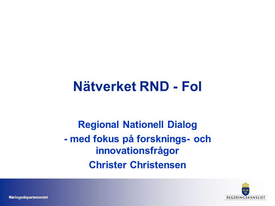 Näringsdepartementet Nu formas Sveriges innovationsstrategi Statssekreterare Catharina Håkansson Boman SISP Innovationsriksdag Kalmar 10 maj 2011 Den nationella innovationsstrategin ooyoo, iStockphoto