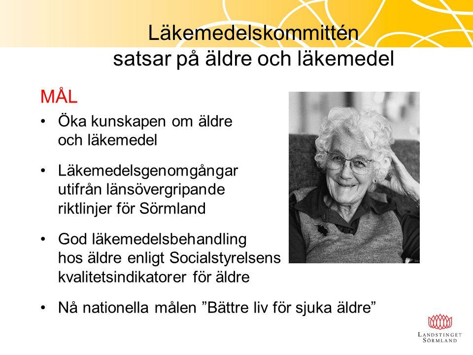 Med de mest sjuka äldres behov i centrum och genom ekonomiska incitament ska satsningen uppmuntra, stärka och intensifiera samverkan mellan kommuner och landsting.