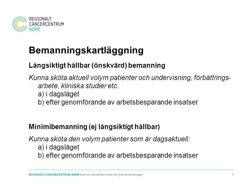 Förslag till lösningar Ökad bemanning av nyckelkompetenser Kompetensutveckling och optimerat kompetens- nyttjande Arbetsbesparande verktyg Nivåstrukturering Utveckla samarbete med primärvården 16