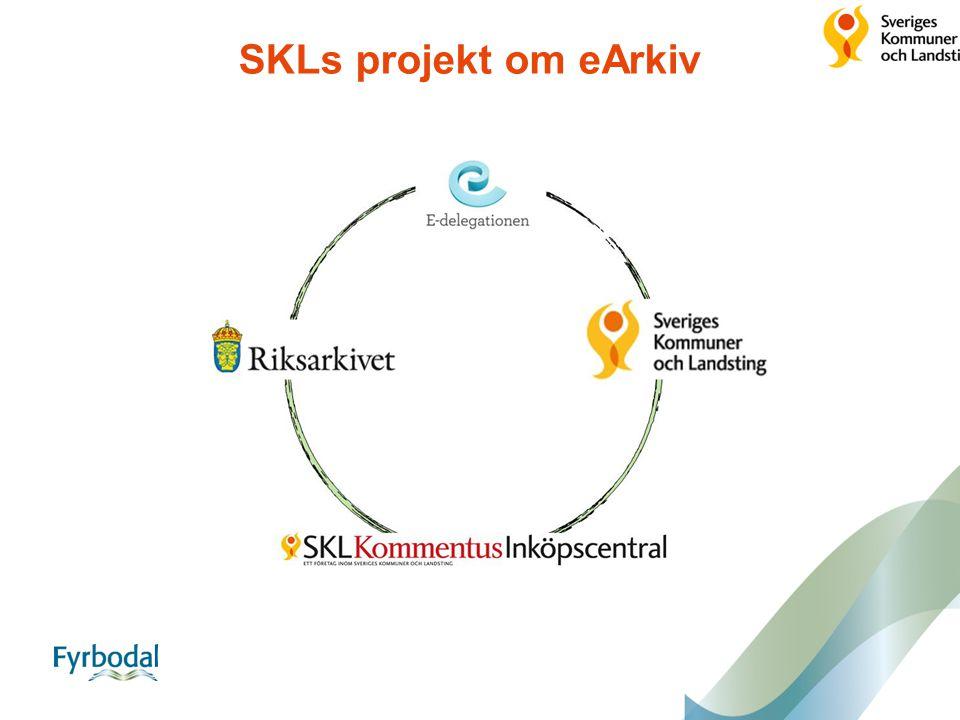 SKLs projekt om eArkiv