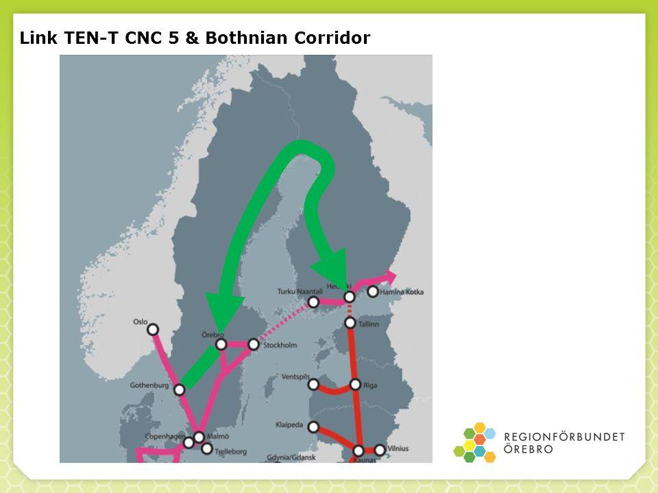 Link TEN-T CNC 5 & Bothnian Corridor