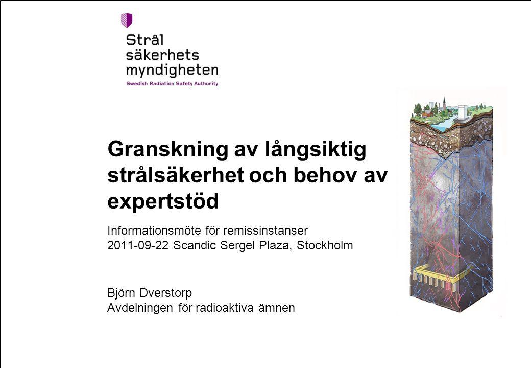 Björn Dverstorp 2011-09-22 Vad händer näst.(prel.