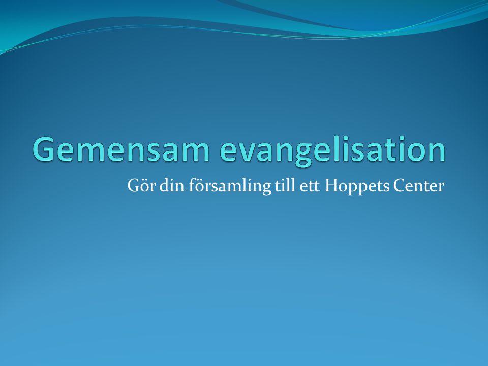 Gör din församling till ett Hoppets Center
