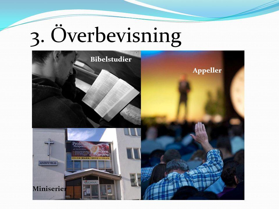 3. Överbevisning Bibelstudier Miniserier Appeller