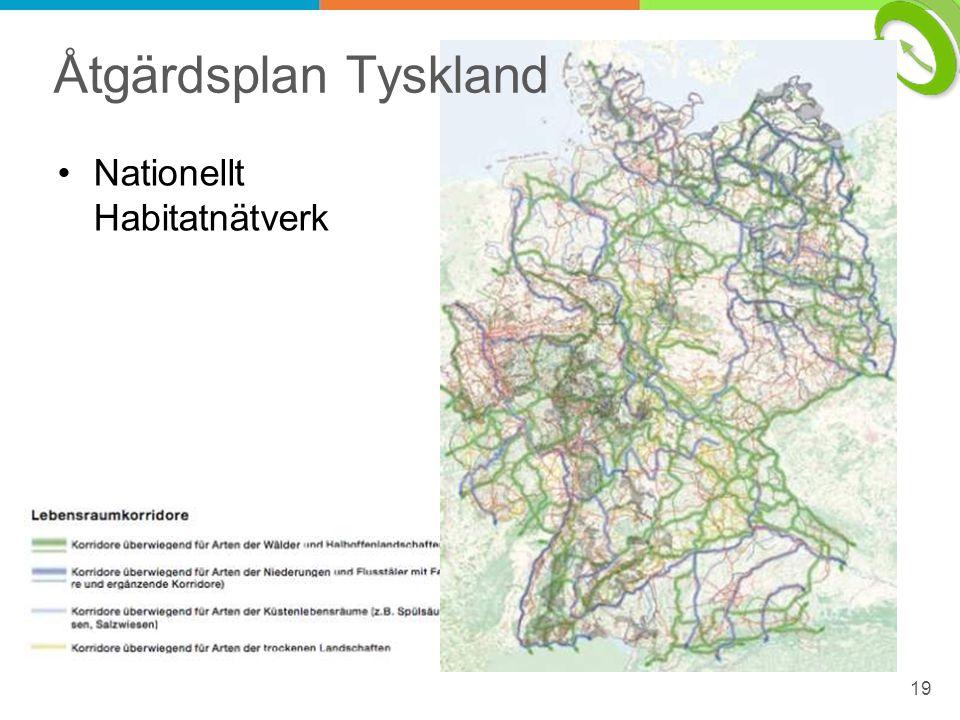 Åtgärdsplan Tyskland Nationellt Habitatnätverk 19