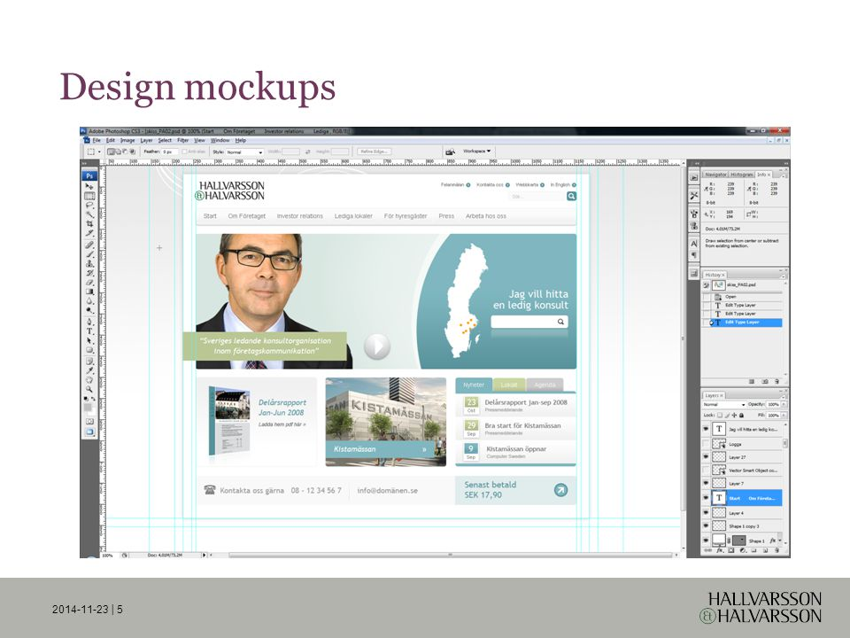 2014-11-23 | 5 Design mockups
