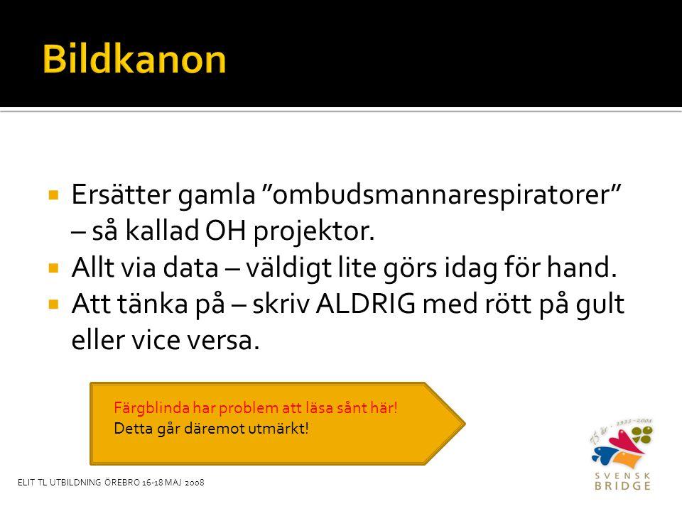  Ersätter gamla ombudsmannarespiratorer – så kallad OH projektor.