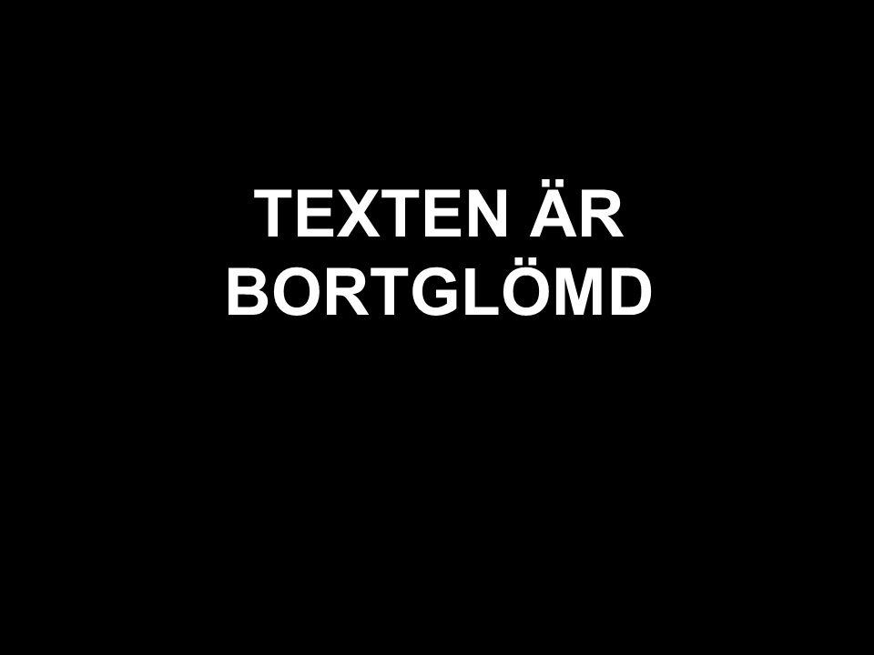 svart texten är bortglömd TEXTEN ÄR BORTGLÖMD