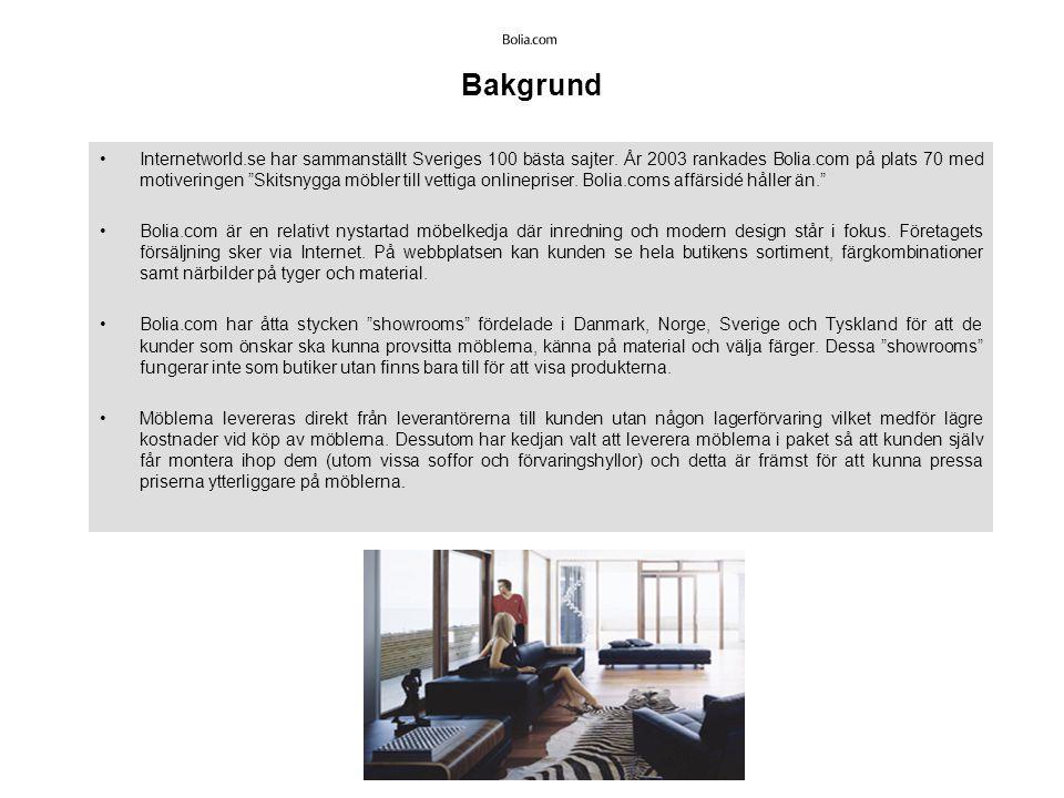 Bakgrund Internetworld.se har sammanställt Sveriges 100 bästa sajter.