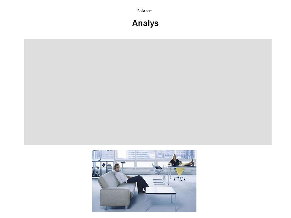 Slutdiskussion Överlag har Bolia.com en konsekvent och väl genomtänkt design som är modern och stilren.