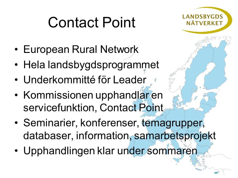 Använd Contact Point Delta i konferenser och seminarier Läs nyhetsbrev och webb Bekanta er med databaser Använd nätverket för kontakter och samarbeten Medlemmar i tematiska grupper Vi föreslår en tematisk nätverkskonferens om det europeiska samarbetet