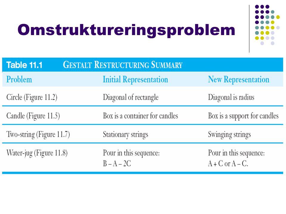 Omstruktureringsproblem