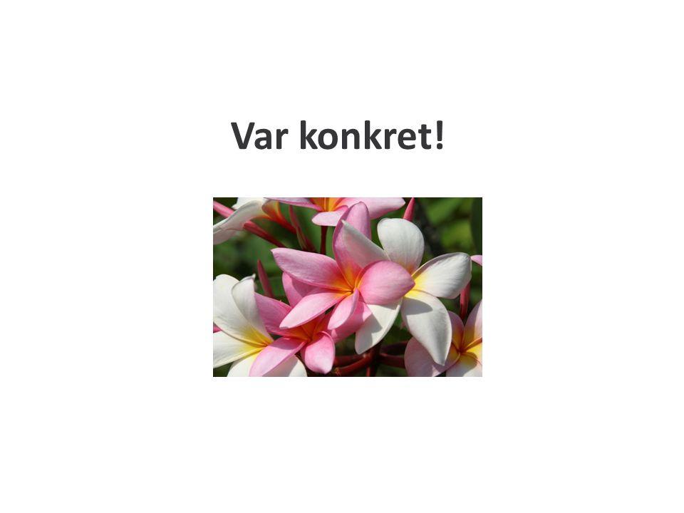 Påläsning Får ha manus, stödord Flip-chart Träna, träna & träna!
