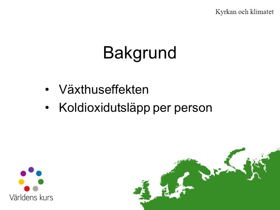 Klimat och miljö Lär dig mer på www.varldenskurs.se