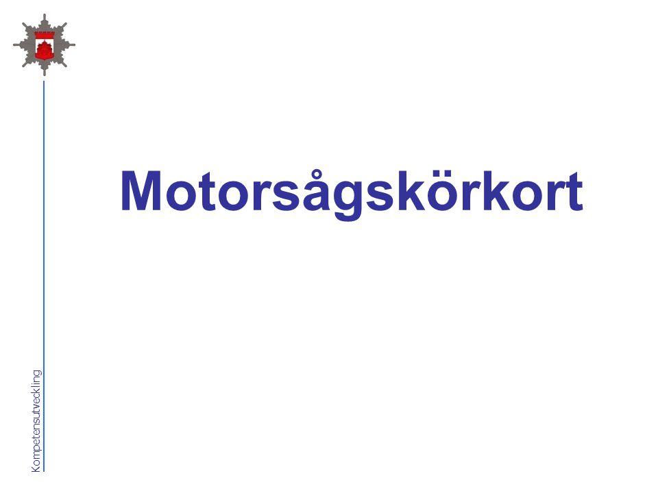 Kompetensutveckling Motorsågskörkort