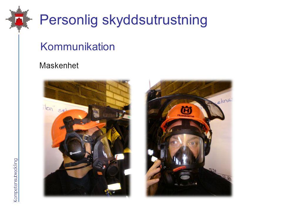 Kompetensutveckling Personlig skyddsutrustning Maskenhet Kommunikation