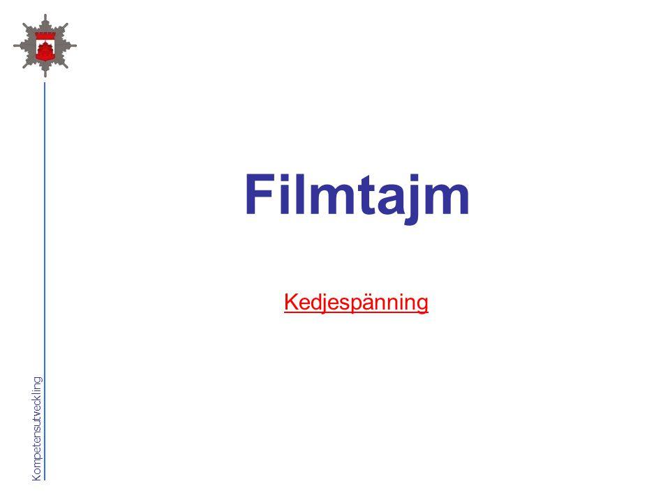 Kompetensutveckling Filmtajm Kedjespänning