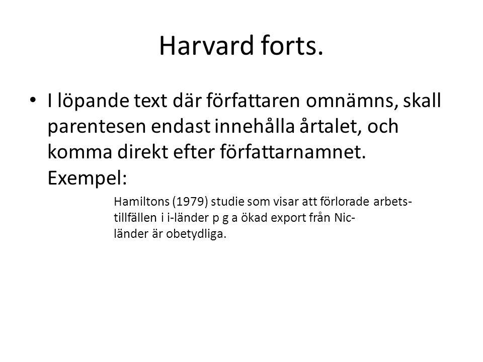 Harvard forts.