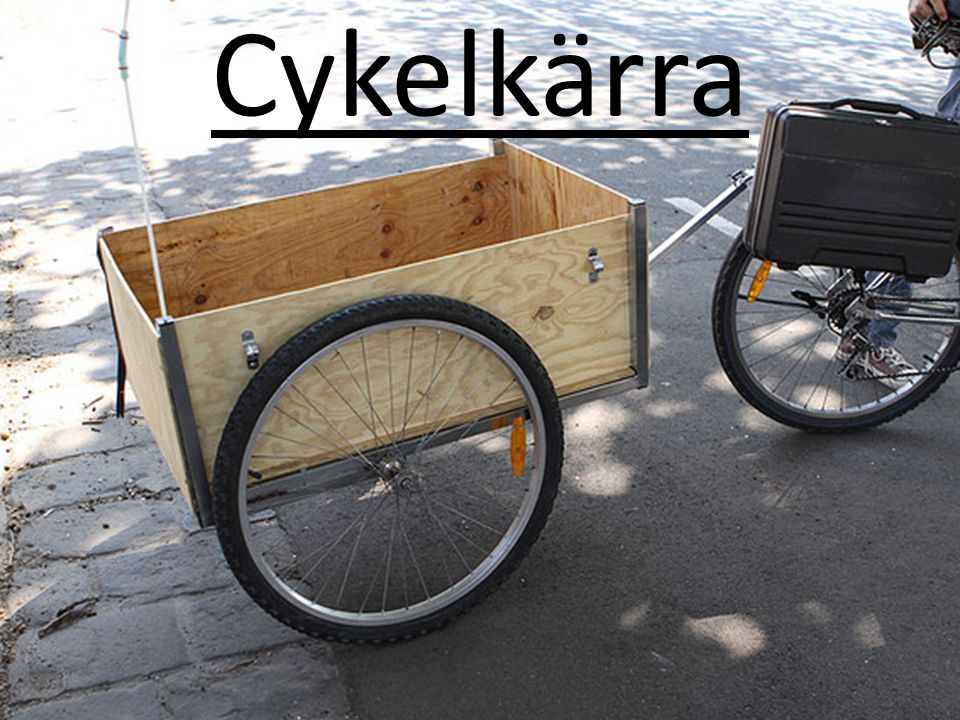 Cykelkärra