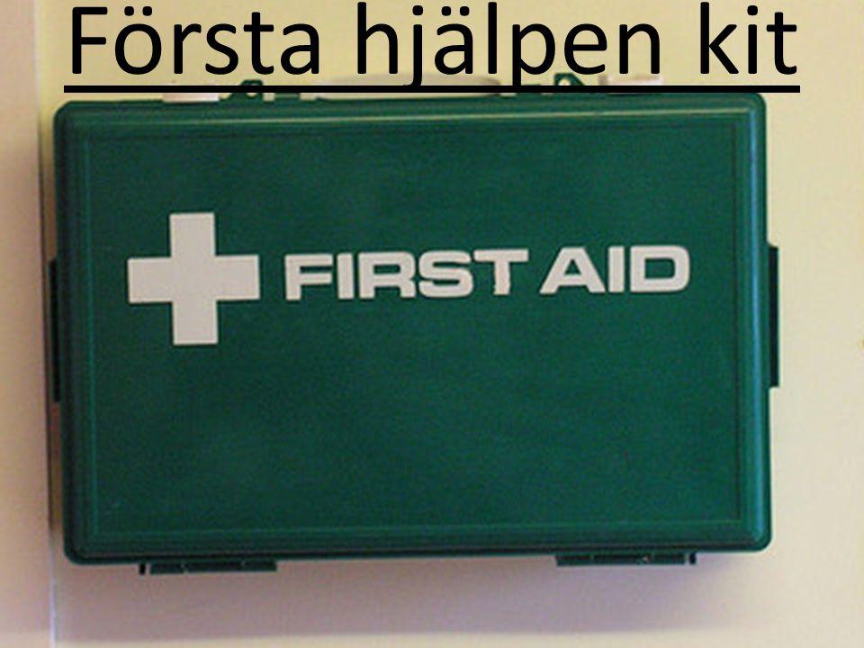 Första hjälpen kit