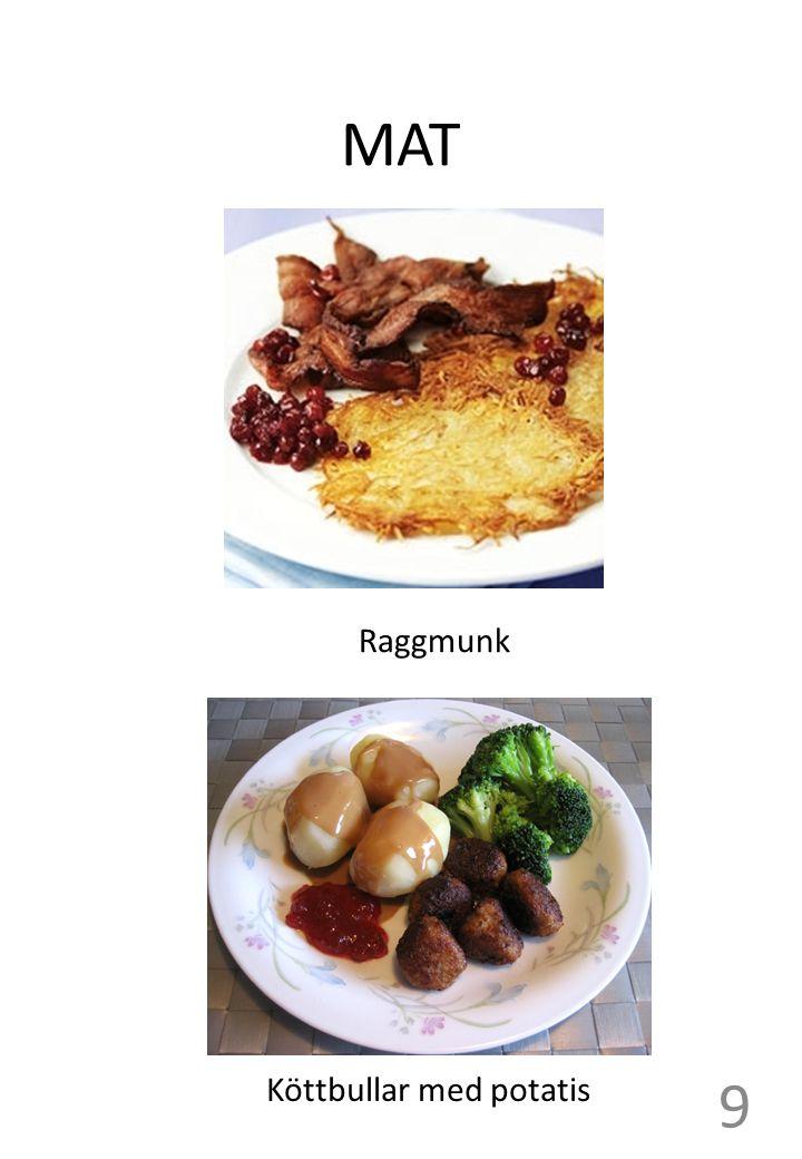 MAT Raggmunk Köttbullar med potatis 9