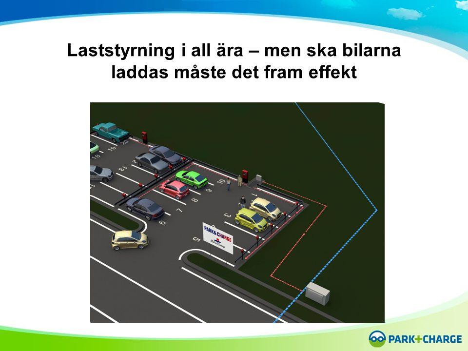 Laststyrning i all ära – men ska bilarna laddas måste det fram effekt