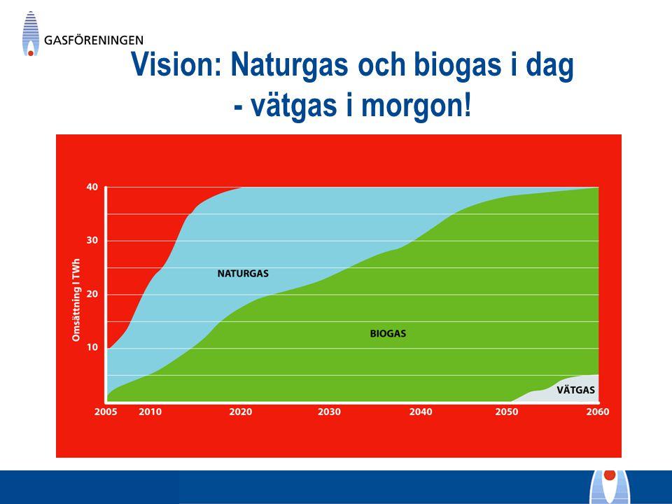 Vision: Naturgas och biogas i dag - vätgas i morgon!