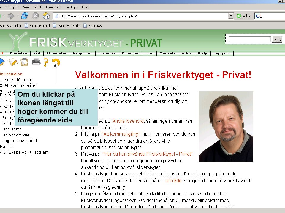 I Friskverktyget - Privat kan du enkelt och snabbt kartlägga din hälso- och stressprofil.