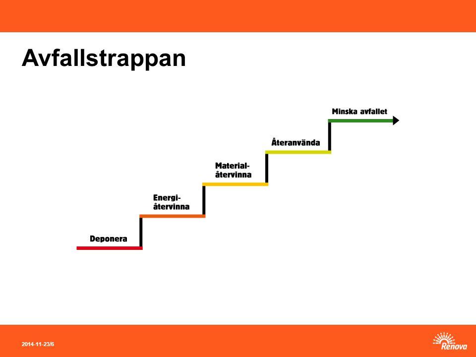 2014-11-23 / 6 Avfallstrappan