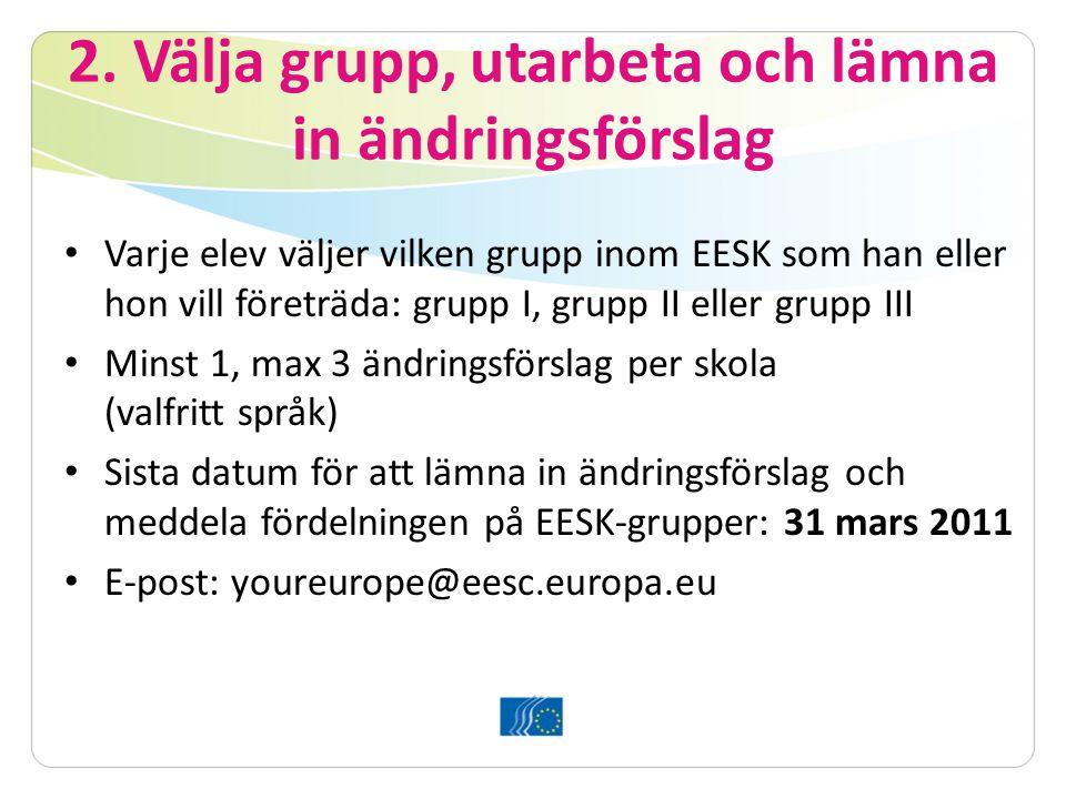 6. Bryssel: plenarsession Debatt och omröstning om yttrandet med EU-medborgarnas bästa som mål