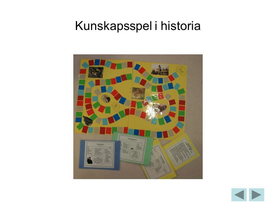 Kunskapsspel i historia