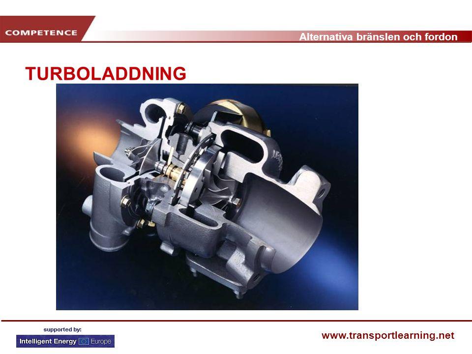 Alternativa bränslen och fordon www.transportlearning.net TURBOLADDNING