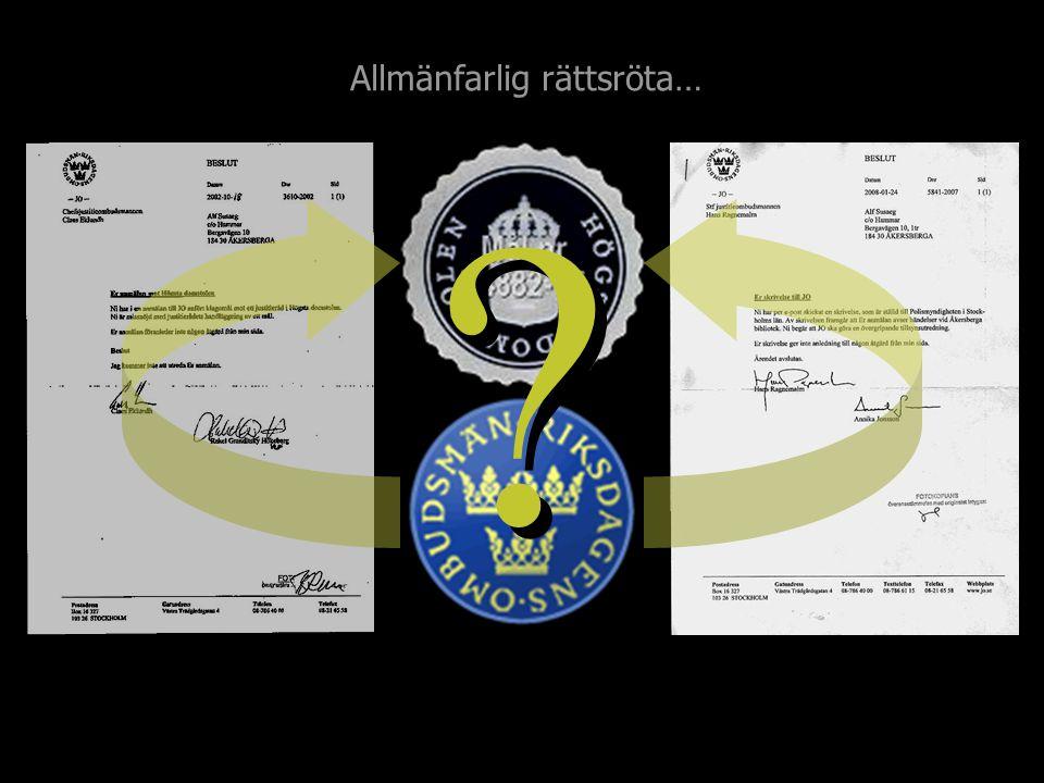 …brottsanmälda behandling av mögelskademålet T4882-95