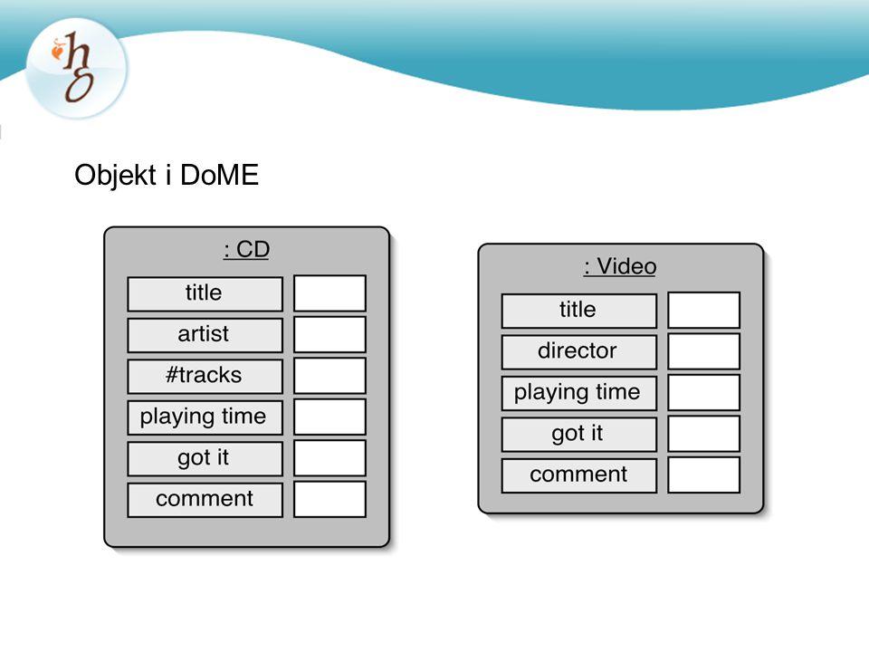 Arv i Java public class Item {...} public class CD extends Item {...