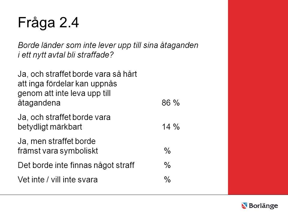 Gruppresultat för Tema 3 Fråga 3.1 Tycker du att det kortsiktiga målet för utsläppsminskningar i annex 1 - länder borde vara Högre än 40% % Mellan 25% och 40%100 % Lägre än 25% Det borde inte finnas något mål % Vet inte / vill inte svara %