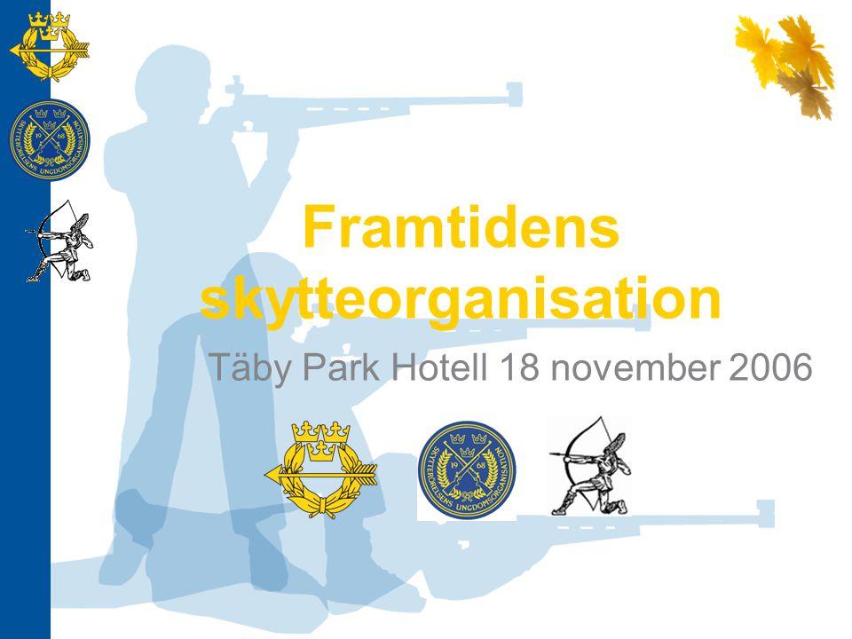 Bakgrund Tanken om en förändring är inte ny 19/1 2006 samlades de fyra förbundsordförandena Målsättningen sattes till att samla berörda organisationer i en ny slagkraftig organisationsstruktur.