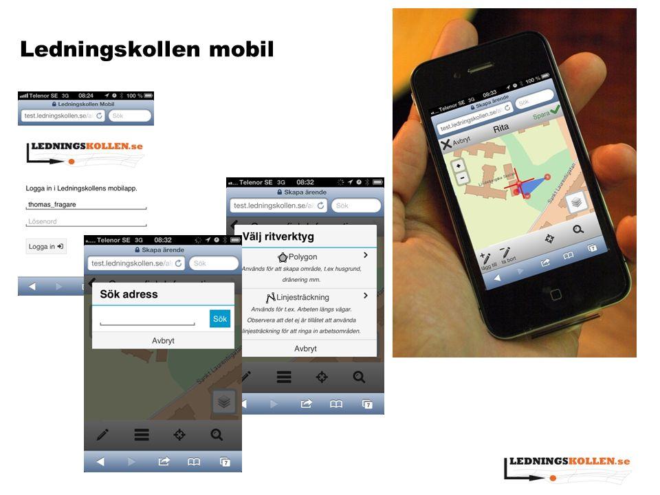 Ledningskollen mobil