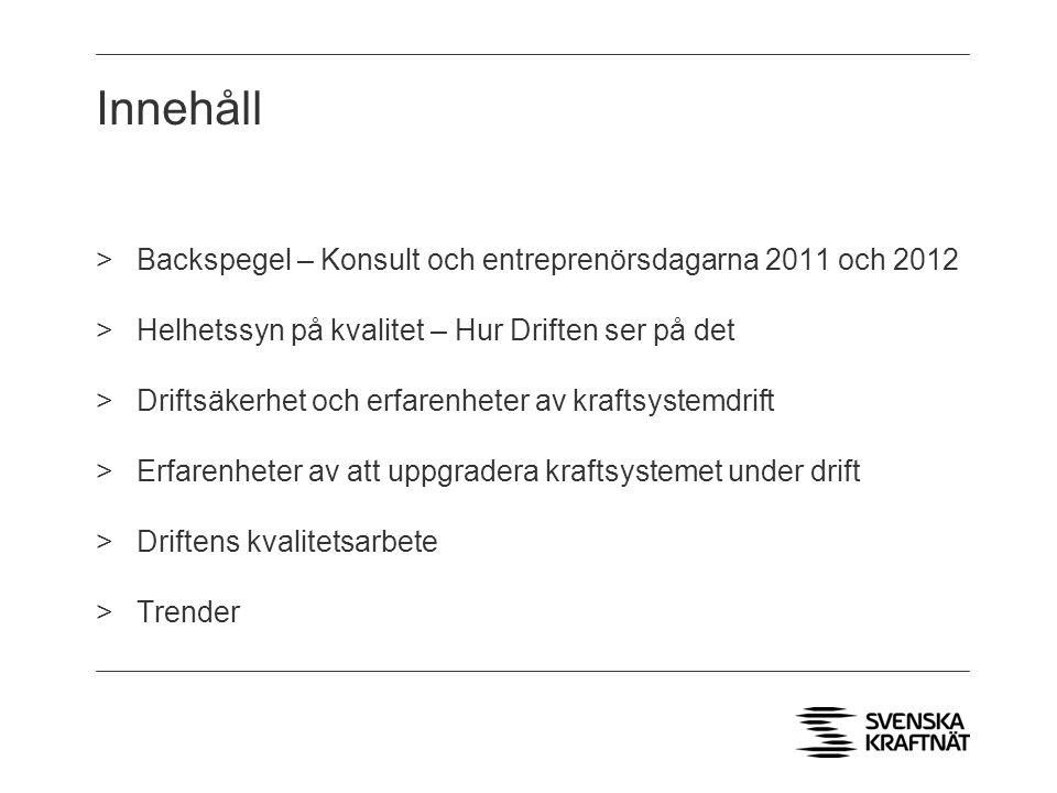 Kontaktuppgifter: Per Wikström Enhetschef DC-SYD per.wikstrom@svk.se Tel: 08-475 82 68 per.wikstrom@svk.se Frågor?