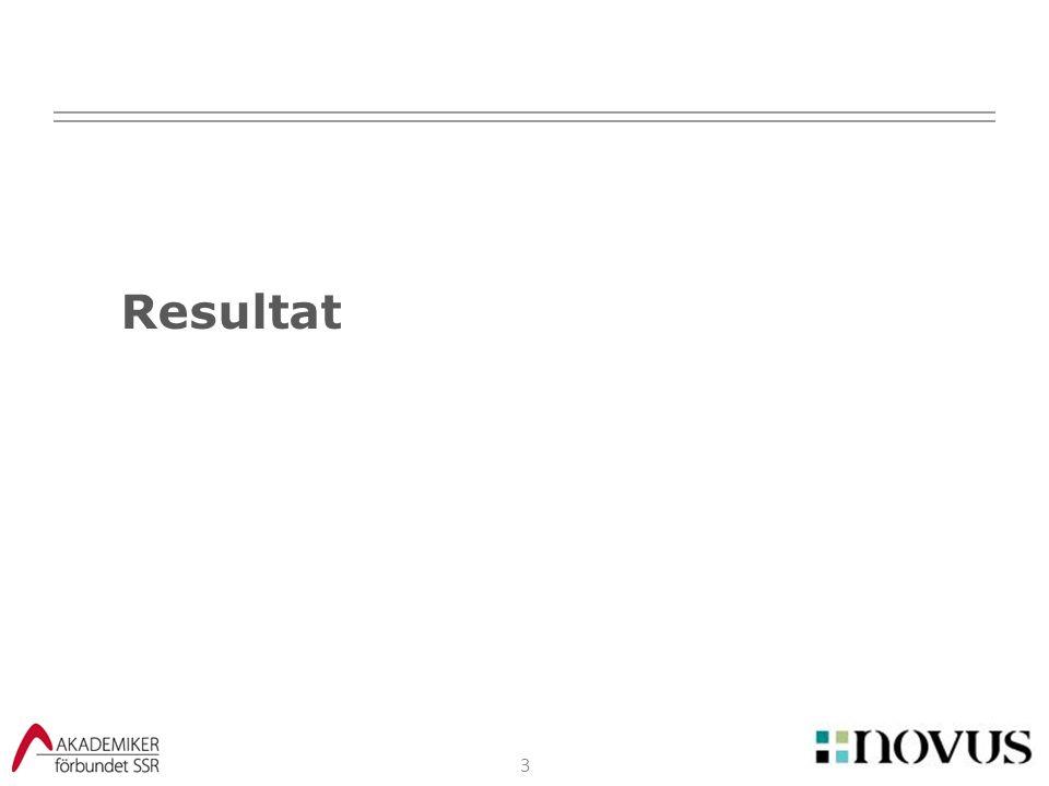 3 Resultat