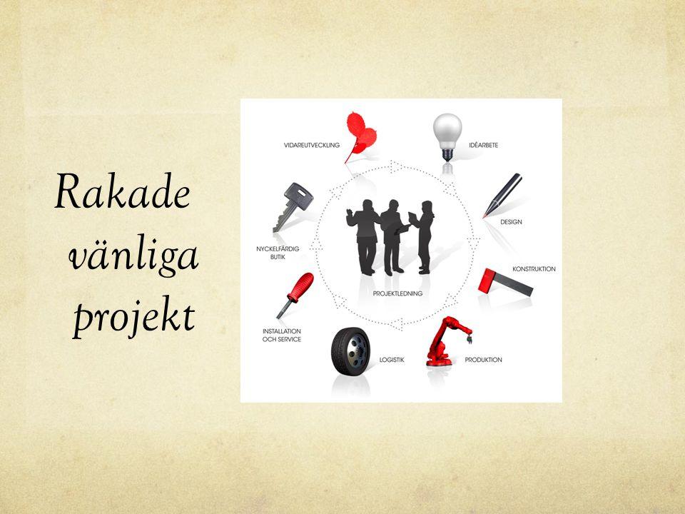 Rakade vänliga projekt