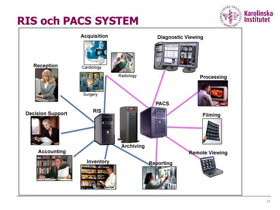 17 RIS och PACS SYSTEM
