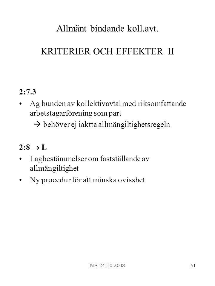 NB 24.10.200851 Allmänt bindande koll.avt.