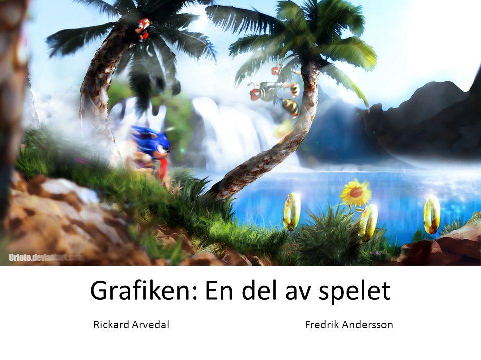Grafiken: En del av spelet Rickard ArvedalFredrik Andersson